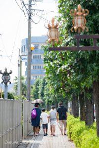 街灯の灯籠