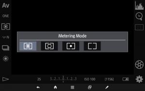 測光モードの変更