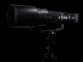 SIGMA 500mmF4Sportsを比較