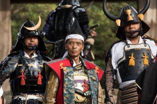 筑前の小京都、秋月で鎧武者と遭遇戦!