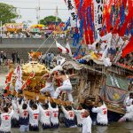 迫力がすごい!川渡り神幸祭