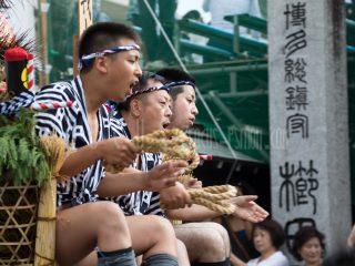 【2017】博多祇園山笠(流れ舁き)に行ってきました