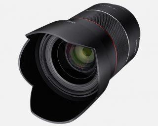 Eマウント用広角レンズ SAMYANG AF35mm F1.4 FEが登場